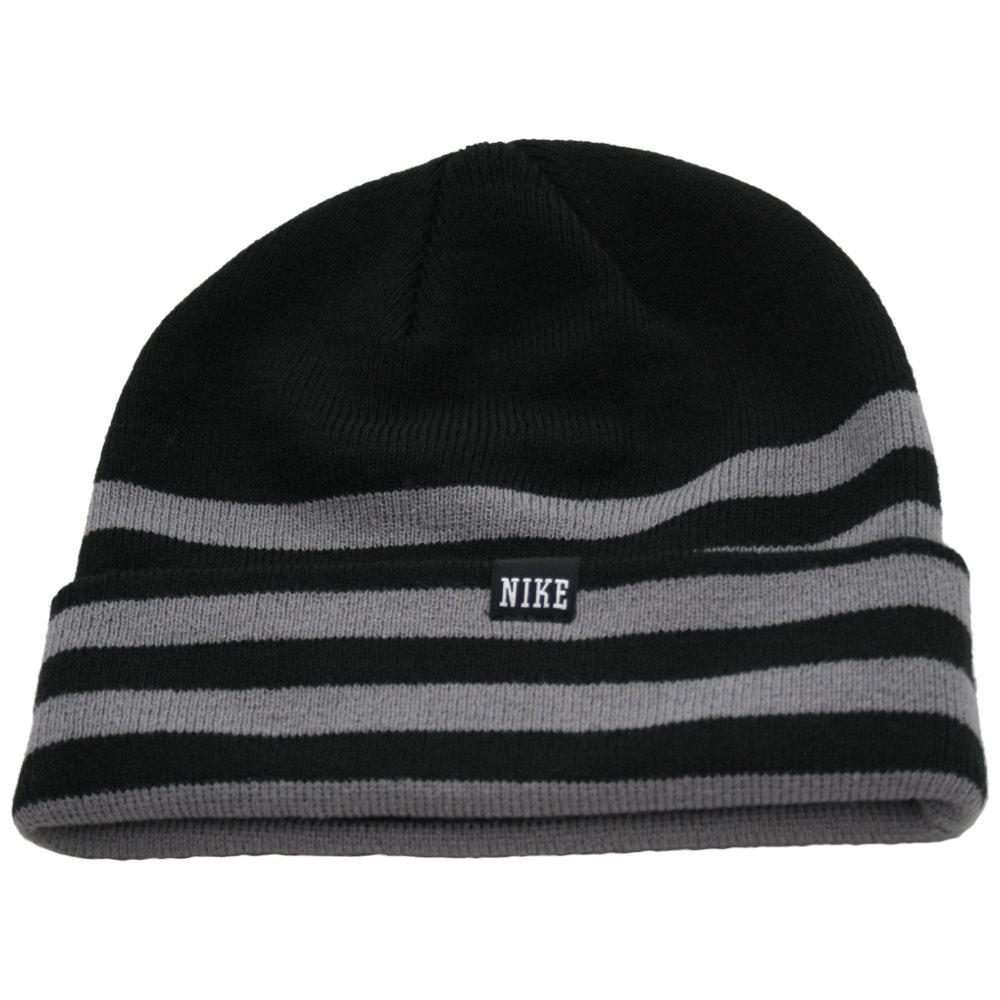 NIKE Novelty Knit Beanie (black/charcoal)