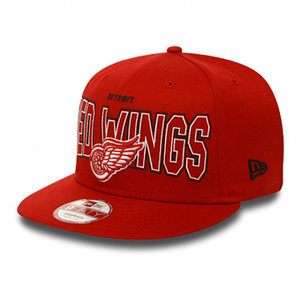 NEW ERA Outter Detroit Red Wings 9FIFTY Snapback (red)
