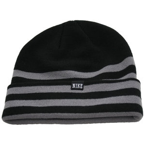 NIKE Novelty Knit Beanie (black/charcoal)
