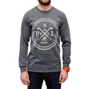 PROLETARYAT The Classic Longsleeve (heather dark grey)
