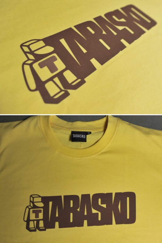 Koszulka tabasko yellow sklep prlbmx Home ubrania