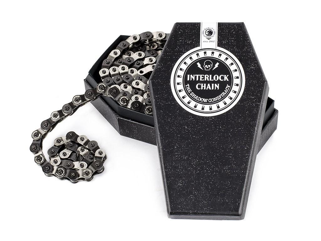 Shadow Interlock v2 Black/Silver