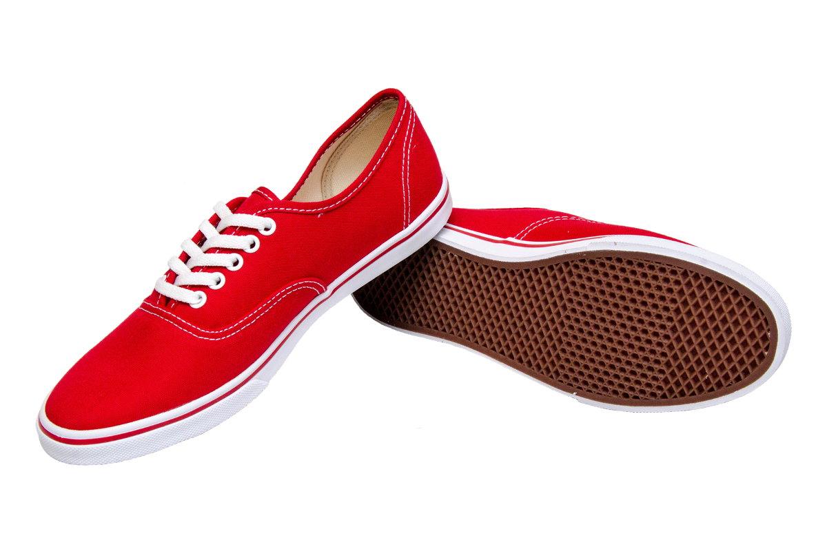VANS Authentic Lo Pro (red)