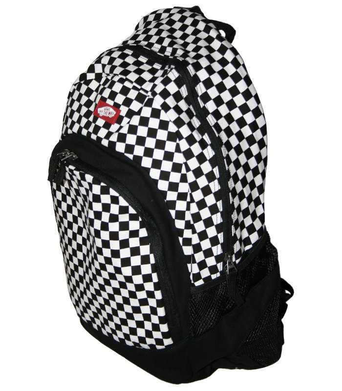 861caadaf0b24 VANS Van Doren Checkerboard backpack · VANS Van Doren Checkerboard backpack