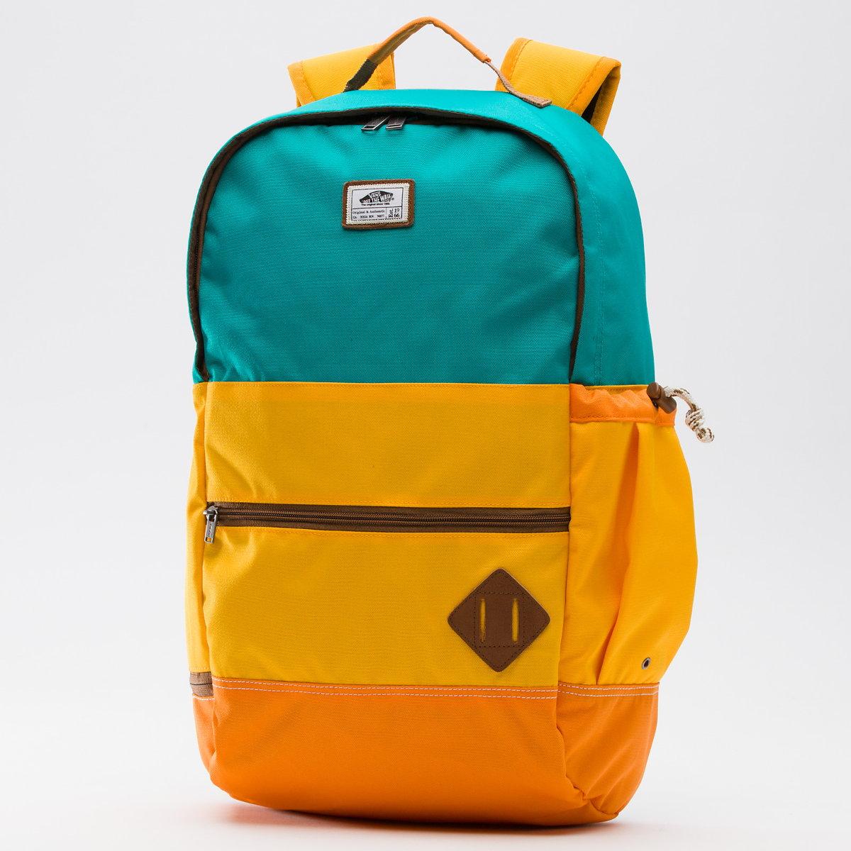 38bdc6d2d4 Plecak VANS Van Doren II backpack (blue grass) - Sklep PRLBMX
